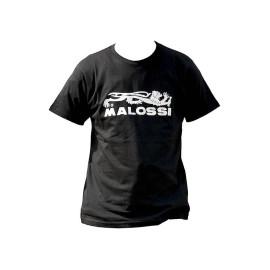 T-Shirt Malossi zwart Maat XXL