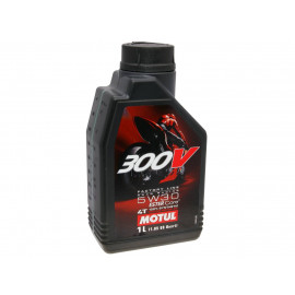 4-Takt Scooter olie Motul 300V Factory Line Road Racing 4T 5W30 1 Liter