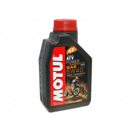 4-Takt Scooter olie Motul 4T ATV Power 5W40 1 Liter
