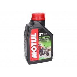 2-Takt Olie / Mengolie Motul Scooter Expert 1 Liter