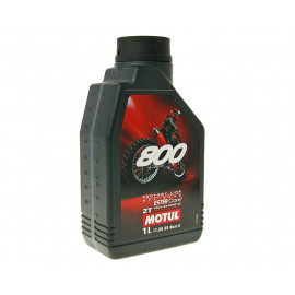 2-Takt Olie / Mengolie Motul 800 Factory Line Off Road 1 Liter