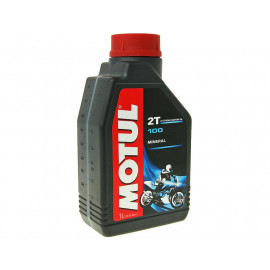 2-Takt Olie / Mengolie Motul 100 1 Liter