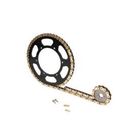 Kettingset kort 11/62 Tanden voor Beta RR 50 Motard 05-, Enduro 05