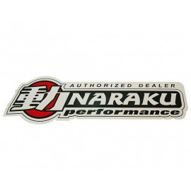 Sticker Raam Naraku dealer 50x15cm