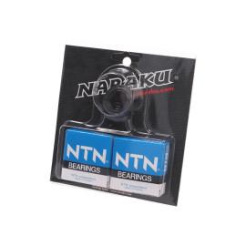 Krukaslager Set Naraku HD Heavy Duty voor Derbi EBE, EBS, D50B0
