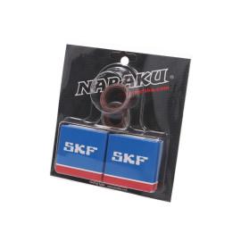 Krukaslager Set Naraku SKF C3 Metaalkäfig voor Minarelli AM