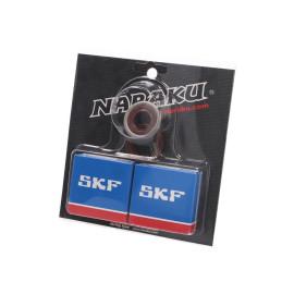 Krukaslager Set Naraku SKF C4 Metaalkäfig voor Minarelli AM
