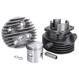 Cilinderkit Naraku 75cc 47mm incl. Kop voor Vespa V50, Special, PK, Ape