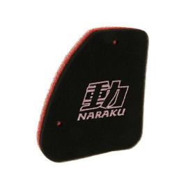 Luchtfilter element Naraku Double Layer voor Peugeot verticaal