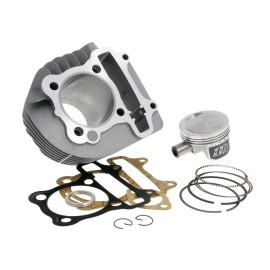 Cilinderkit Naraku 160cc 58,5mm Gesmede zuiger  voor GY6, Kymco AC