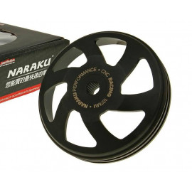 Koppelingshuis Naraku V.2 CNC 107mm voor Piaggio, Peugeot, Kymco, SYM, GY6