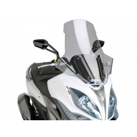 Windscherm Puig V-Tech Line Touring smoke voor Kymco Xciting 400i