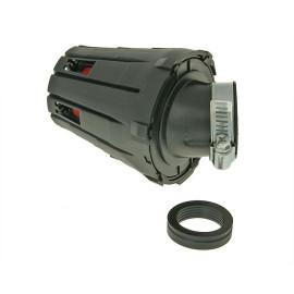 Luchtfilter Boxed 28-35mm 45° zwart