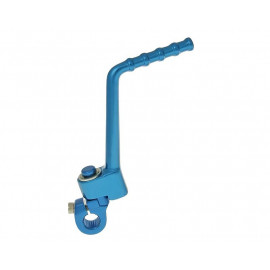 Kickstarter Aluminium blauw voor Derbi EBE, D50B0