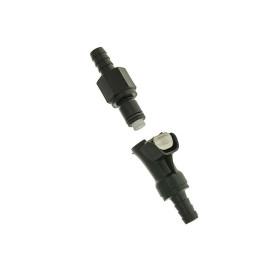 BenzinschlauchKoppeling zwart 8mm