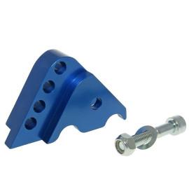 Schokbrekerverlenger CNC 4-Loch blauw voor Minarelli horizontaal