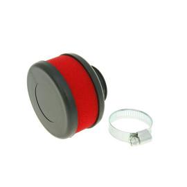 Luchtfilter Flat Foam rood 28-35mm recht
