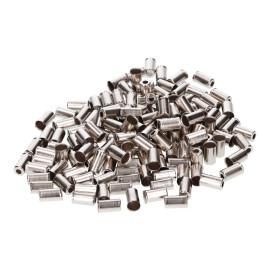 Eindstukken voor Buitenkabel Metaal 6mm 150 Stuks