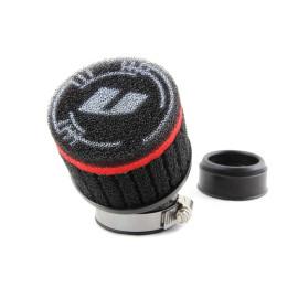 Luchtfilter VOCA Race 48mm zwart voor PWK, platschieber-Carburateur