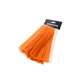 Speichencover Set VOCA 215mm voorkant, 190mm achter - je 38 Stuks - orange