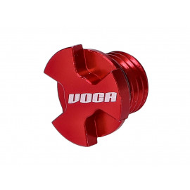 Oliepijlstok VOCA CNC rood voor Minarelli AM, Generic, KSR-Moto, Keeway, Motobi, Ride, 1E40MA, 1E40MB