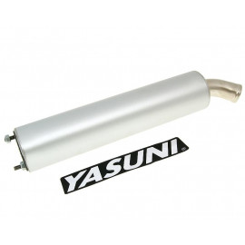 Einddemper Yasuni Aluminium vervangen door YAZ-SIL034R